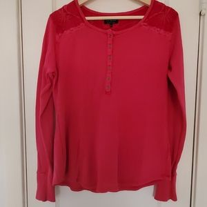 Lunky Brand Embroidered Thermal Shirt
